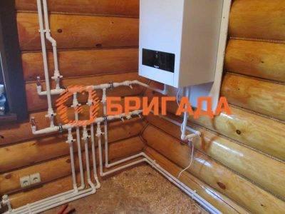 Монтаж водяного пола деревянном доме