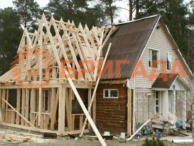 достройка деревянных домов