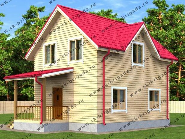Самый продуманный проект дома под ключ