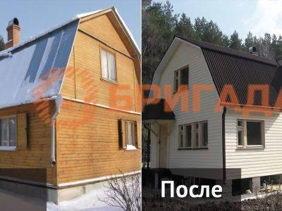 достройка и реконструкция деревянных домов