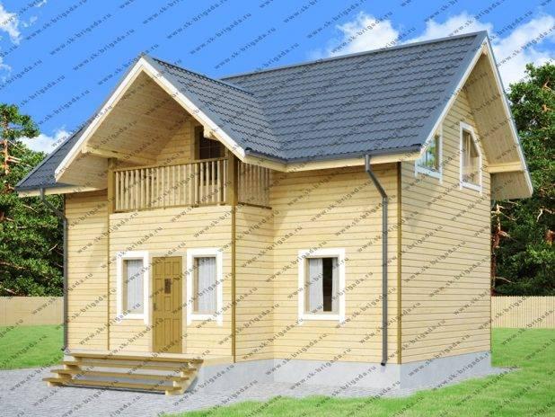 Садовый дом для постоянного проживания под ключ