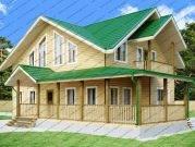 Проект дома 10 на 15 с мансардой