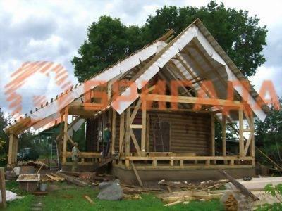 реконструкция старого деревянного дома