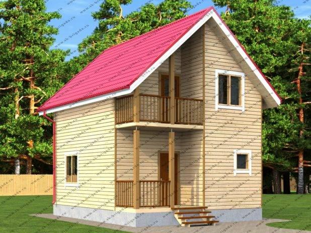 Малогабаритный дом для постоянного проживания под ключ