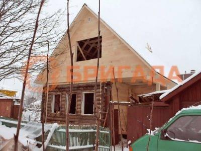 примеры реконструкции дачных домов