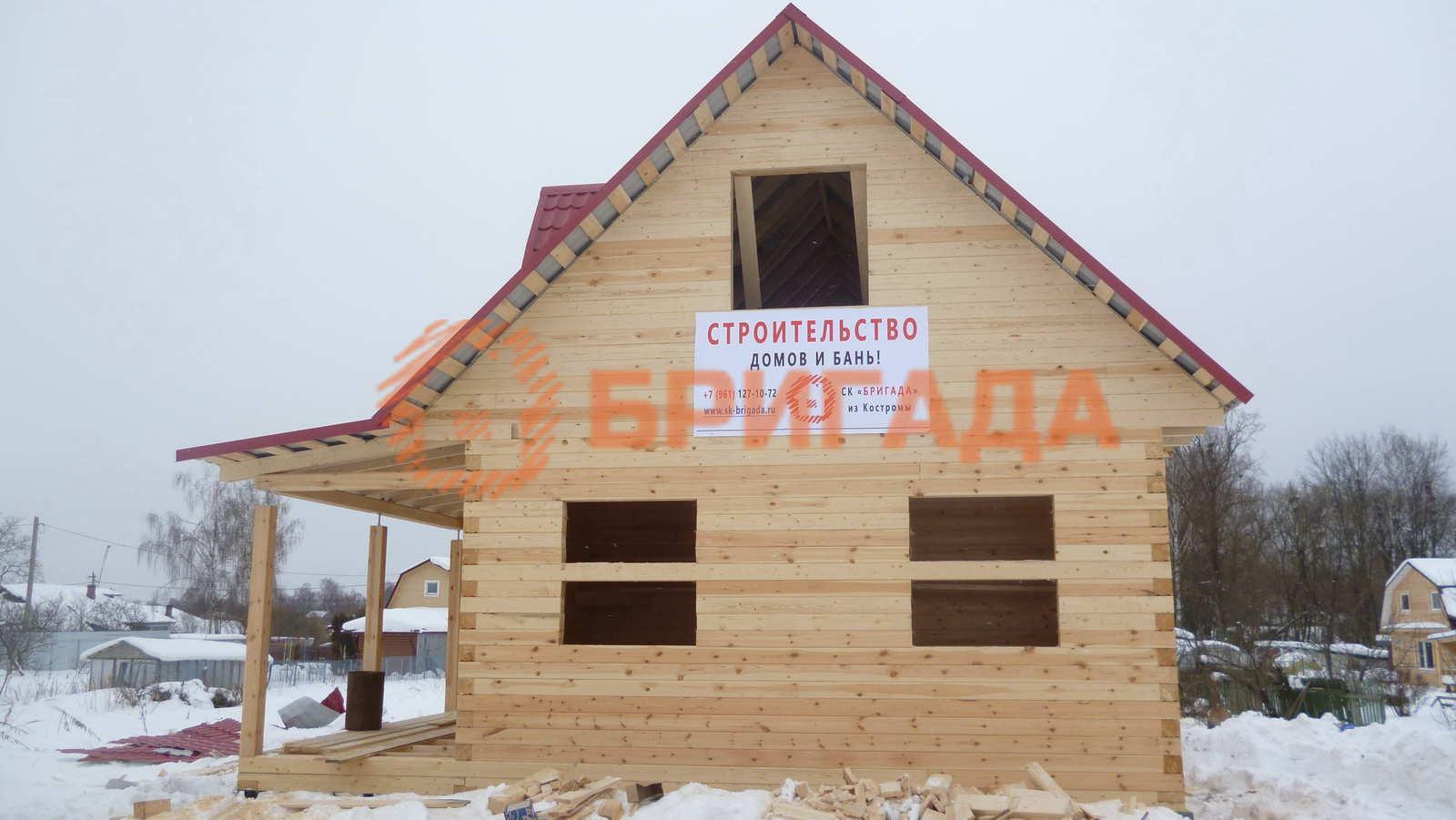 дома из бруса за материнский капитал