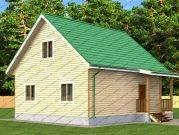 Дом из бруса Пересвет