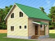 Дом из бруса Боярин