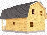 3D проект дома